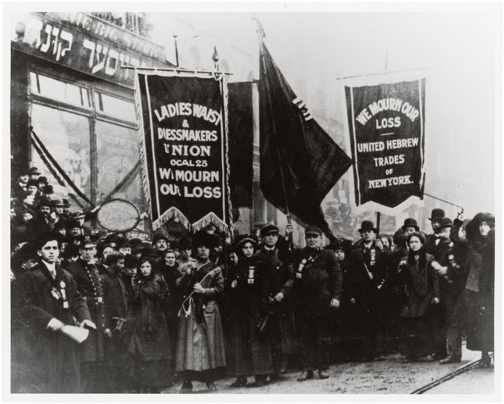 Demonstration of Protest and Mourning for Triangle Shirtwaist Factory Fire of March 25, 1911 | DocsTeach