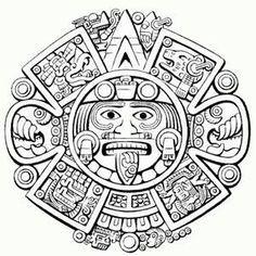 El tatuaje del sol azteca se hizo en honor del dios-sol azteca llamado Huitzilopochtli. Se utiliza un colibrí zurdo para simbolizar al dios-sol. El dios-sol era el dios más importante para los aztecas; se dice que es el guardián de los cielos.Por lo tanto, el significado del tatuaje del sol azteca es la creencia en el más allá.