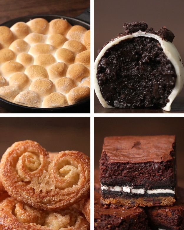 Four desserts with three ingredients in two minutes. Four Easy Desserts With Three Ingredients Here's a video that shows you how to make all four: you