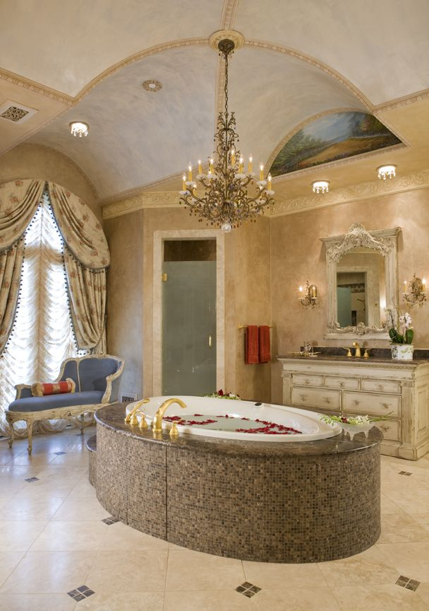 Gorgeous bathroo interior design ideas and decor by Habersham Custom Bath Cabinetry