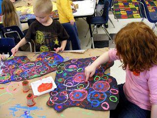 Field Elementary Art Blog!: Back to School WHIRLWIND! 1st Grade Printmaking and 3rd grade Sunglasses Portraits!