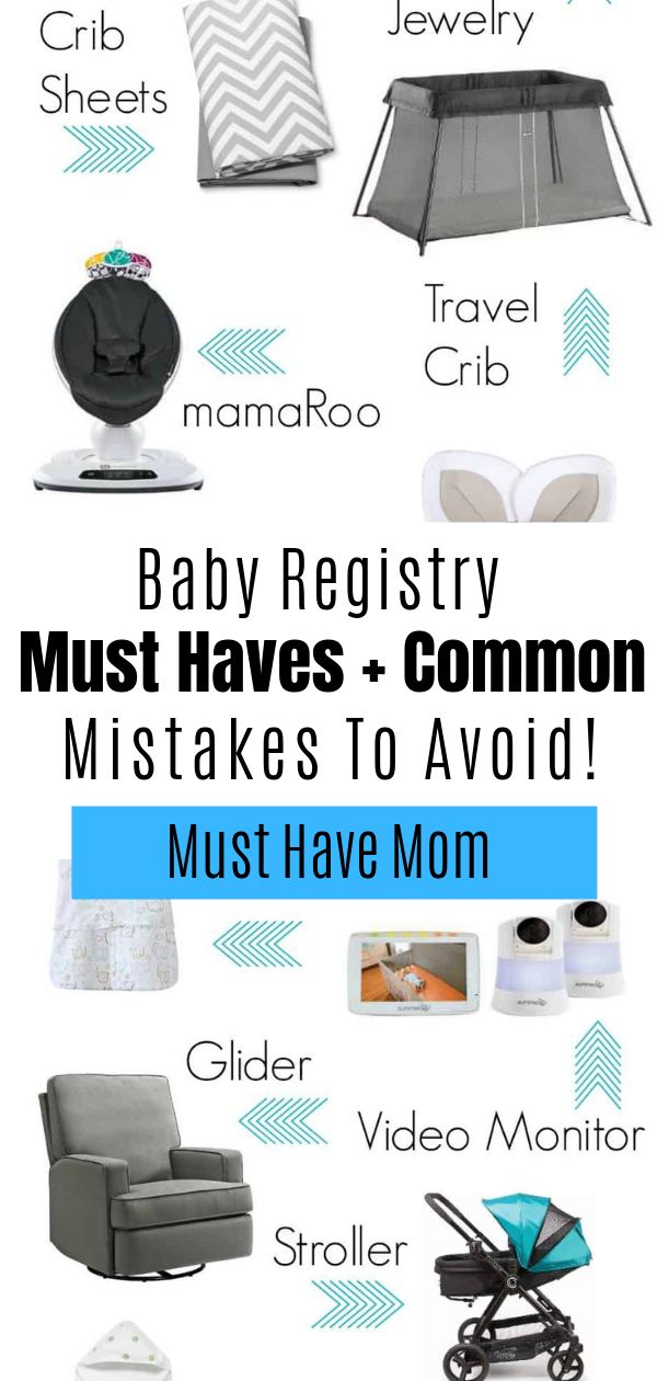 Having a baby? Find out the baby registry must-haves and ...