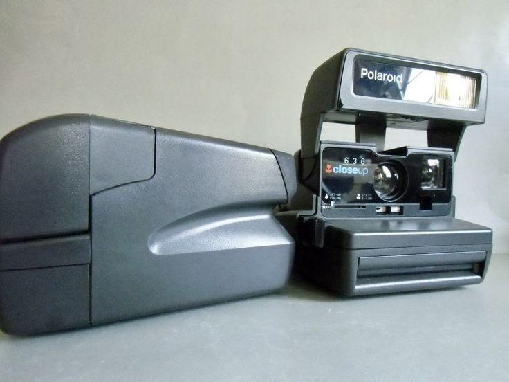 Vintage Polaroid - Polaroid -  636 Close up - Sofortbildkamera - ein Designerstück von susduett bei DaWanda