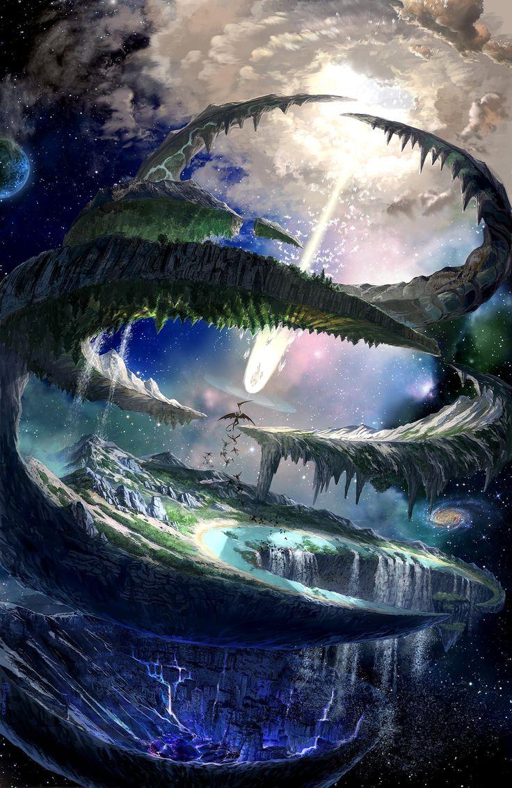 109 best images about Fantasy Lands on Pinterest