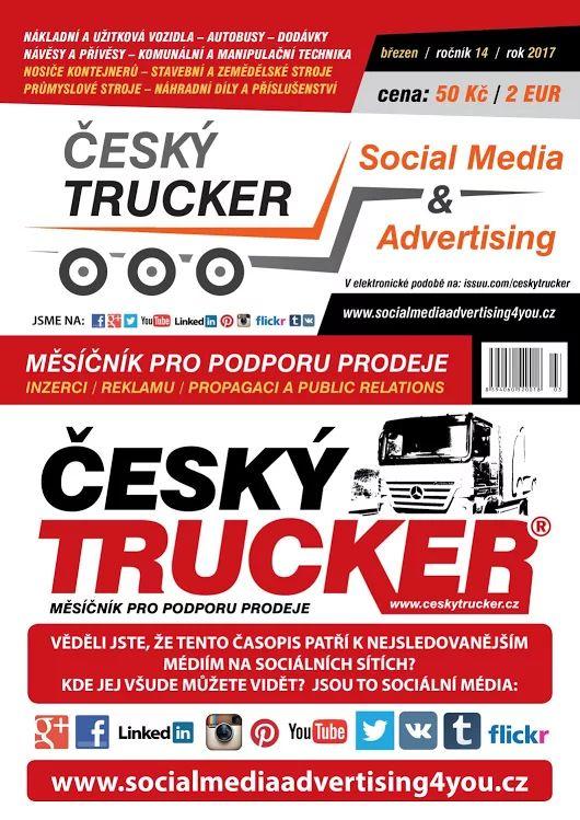Český Trucker - březen 2017  #CHINATRUCKRACING  #CESKYTRUCKER