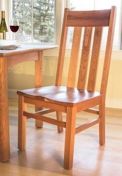 Mission Style Dining Chair - craftsman - Dining Chairs - Boston - VERMONT WOODS STUDIOS
