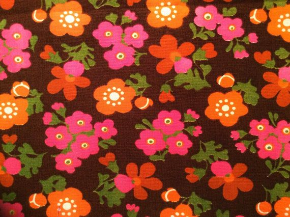 Wonderful 60s mod vintage scandi retro fabric.