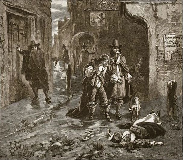 The Great Plague of London, 1665. A summary of the [desperate] mood among Londoners.