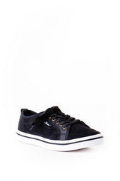 Slope Lace Up Sneaker in Black