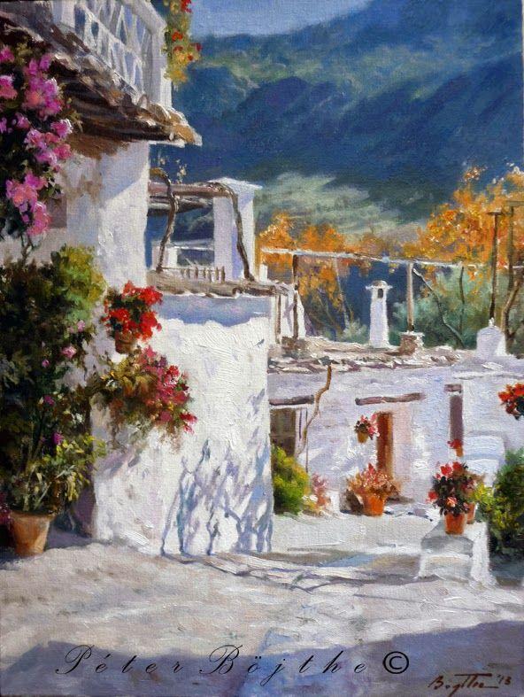 60 best pintura oleo de granada images on pinterest - Pinturas arenas granada ...