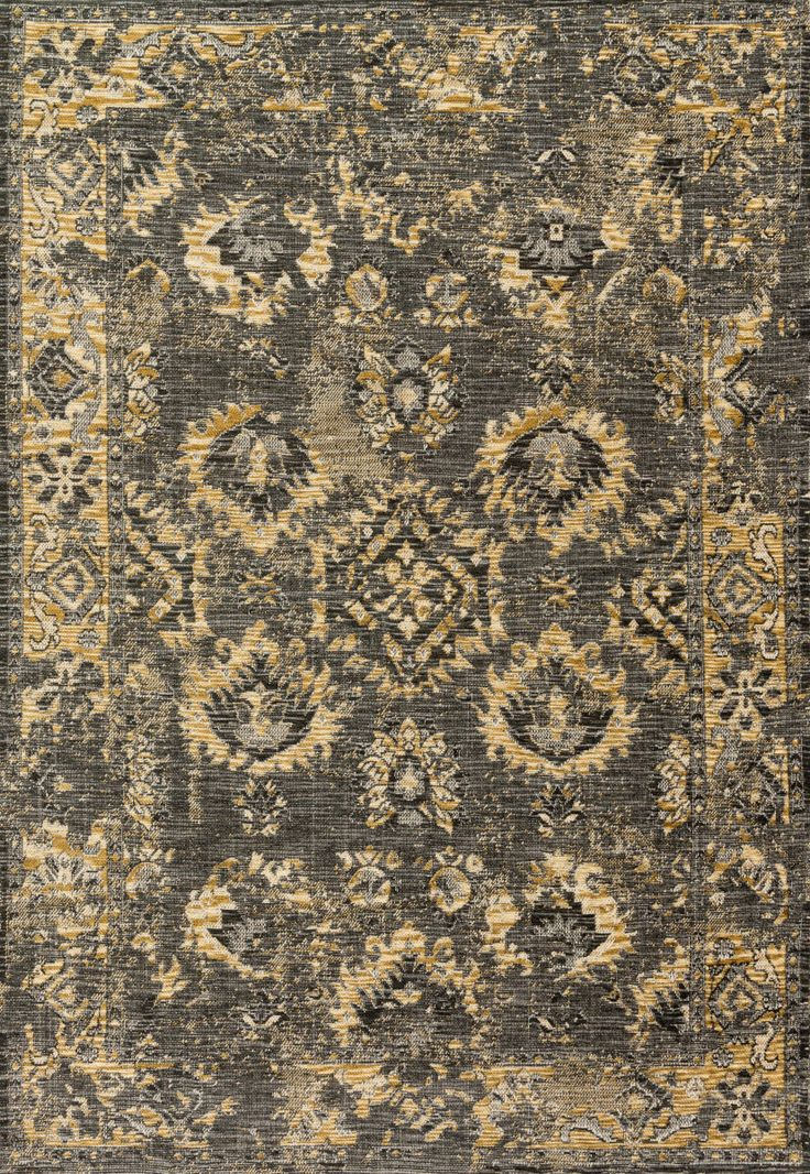 Power loomed in Turkey of 100% polypropylene, the Izmir Collection pays homage to the antique rugs through its purposefully faded designs, while also updating the look with trendy colors for today's interiors. The collection features bold,...