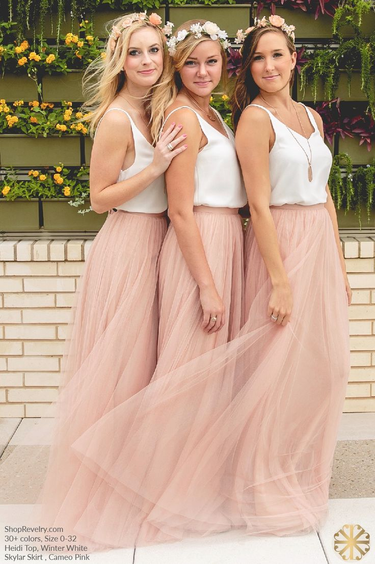 473 best bridesmaid style images on pinterest bridesmaid flowers revelry skylar skirt 12500 revelry has affordable trendy and designer quality bridesmaid ombrellifo Choice Image