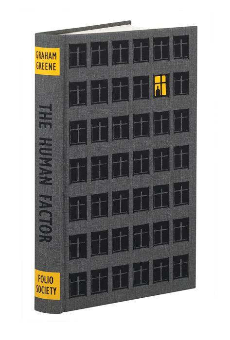 The Human Factor by Graham Greene | Bill Bragg Illustration | Folio Society edition
