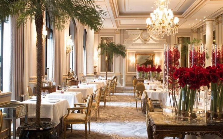 A guide to the best Michelin-starred restaurants in Paris, including Alain Ducasse at Plaza Athenée, Le Cinq at Four Seasons George V, Epicure at Le Bristol, Restaurant Le Meurice and Sur Mesure par Thierry Marx.