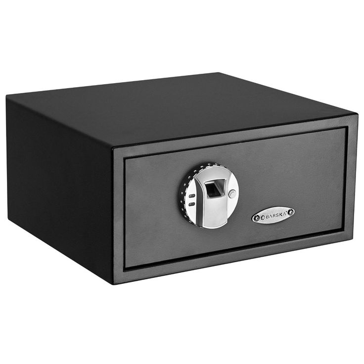 Barska AX11224 Safe - Biometric Fingerprint Safe.  This is another possibility.  Any one of these would do the job.