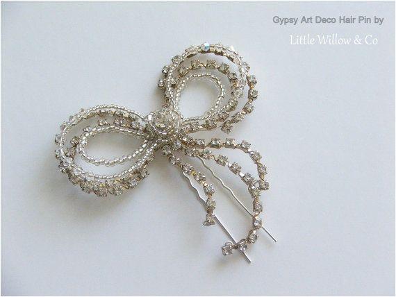 GITANO arco de cristal Pin Pin de pelo de por LittleWillowandCo