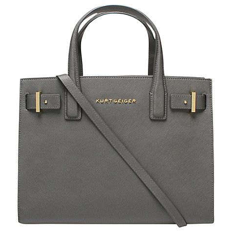 Buy Kurt Geiger London Saffiano Leather Tote Bag Online at johnlewis.com