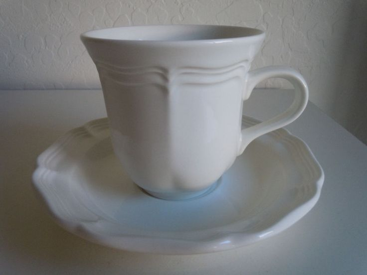mikasa french countryside cup and saucer set
