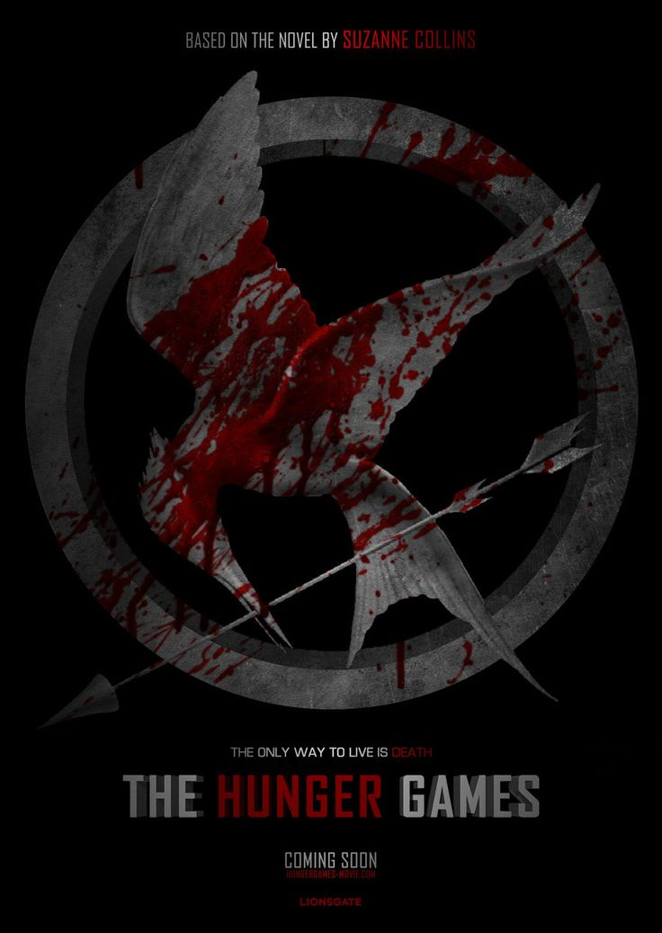 The Hunger Games fan made poster by Alecx8