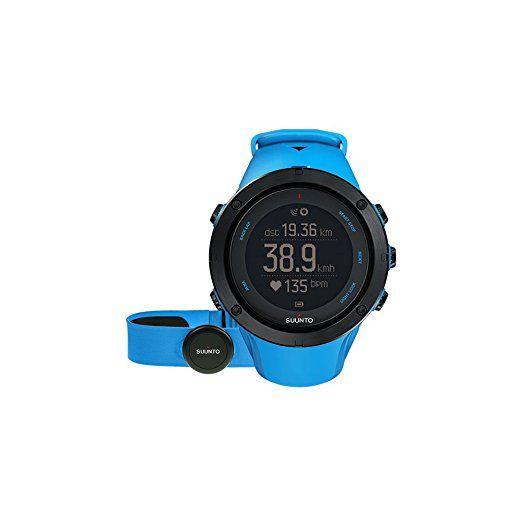 Suunto Unisex Multisport-/Outdoor GPS-Uhr, Saphirblau, Größe: One Size