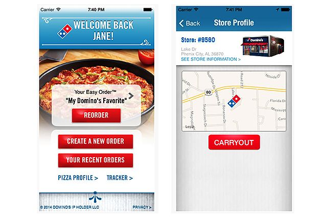Buh-bye, Siri. There's a new talking app in town—and he's actually owned by Dominos.