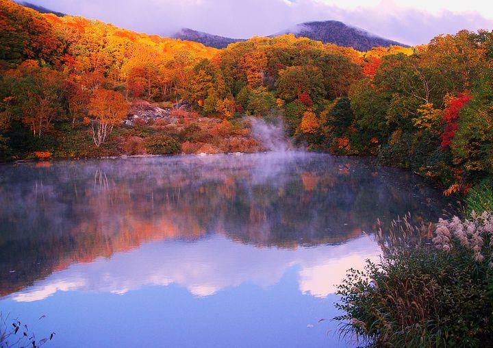 """秋と言えば紅葉。もうすぐ紅葉の時期が始まりますね。今年の秋はどこに紅葉を見に行くかもう決めましたか?今回は、本州の最北端""""青森県""""の紅葉名所「酸ケ湯温泉・地獄沼」を紹介していきたいと思います。この絶景を見るためにわざわざ県外からも多くの人が訪れるという人気ぶり。その魅力に迫りたいと思います。"""