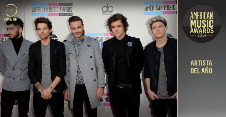 One Direction los máximos ganadores de los American Music Awards 2014 | RevoluTeg