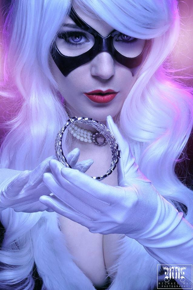 This is a high quality signed poster of jennifer as black cat which can