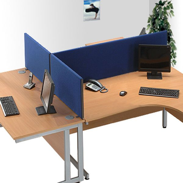 Office Screen Partition / Room Divider Privacy Office Screens 45cm Height   eBay