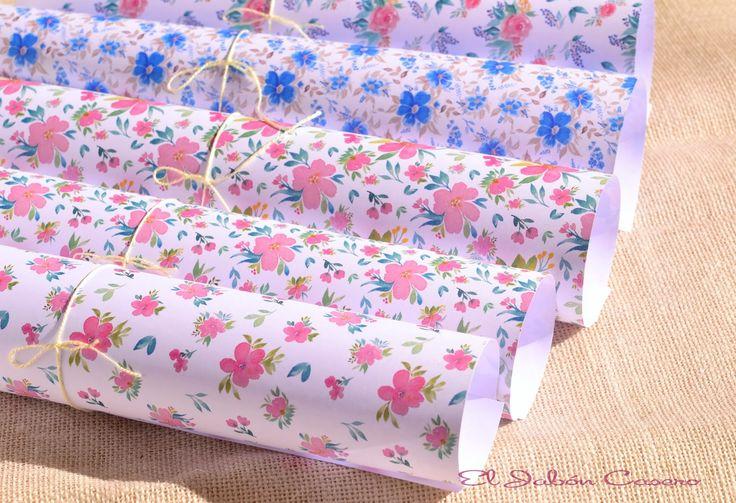 Papeles bonitos para decorar detalles de boda detalles - Papeles para decorar ...