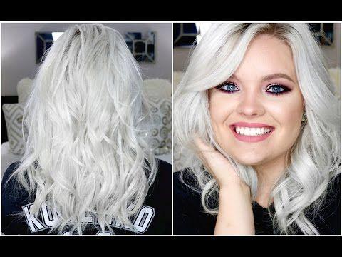 How I Curl & Style My Hair - Medium Length Hair | Brianna Fox - YouTube