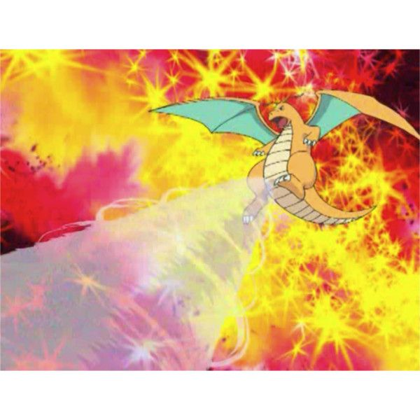 Pokemon ;; Dragonite ❤ liked on Polyvore featuring pokemon
