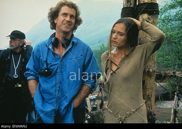 MEL GIBSON CATHERINE MCCORMACK BRAVEHEART (1995) Stock Photo