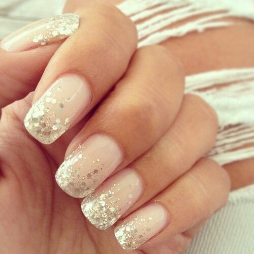 Sparkle nails - Beauty and fashion