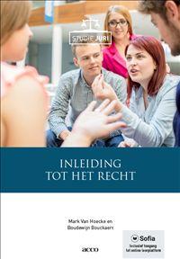 Inleiding tot het recht.  Auteur: Mark Van Hoecke e.a. Plaats: 340