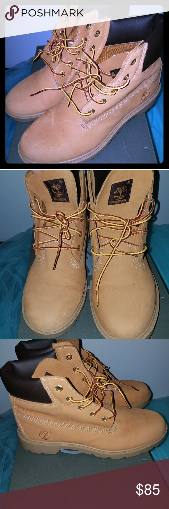 Junior Boys Timberland Boots Timberland Boots Junior Boys size 5.5.  Worn once.  Great condition. Timberland Shoes Lace Up Boots