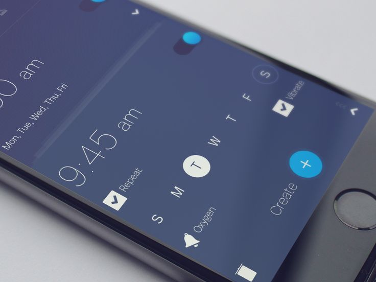 Setting Clock - Alarm Clock App  by Υαrоslαν Ζαitsεv  ✇