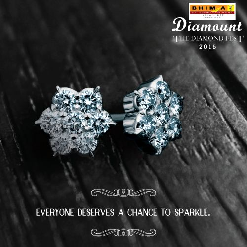 This is your chance to sparkle! Shop your heart out at Bhima this diamond fest. #Diamond #Bhima