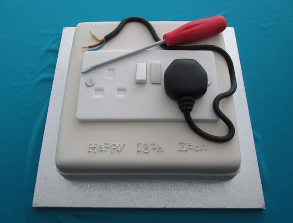 Electrician Cake - Price band 1
