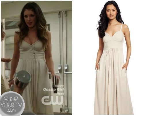 Shop Your Tv: 90210: Season 5 Episode 2 Annie's Cream Maxi Dress