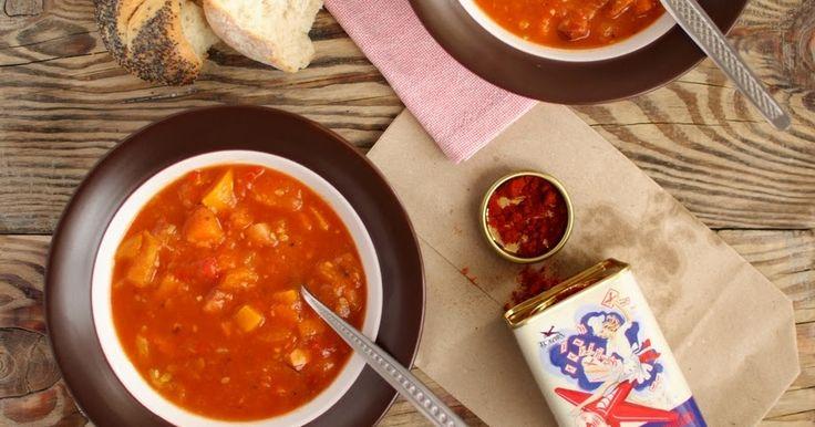 soup zupa gulaszowa z warzyw zupa z Budapesztu zupa z papryką i pomidorami
