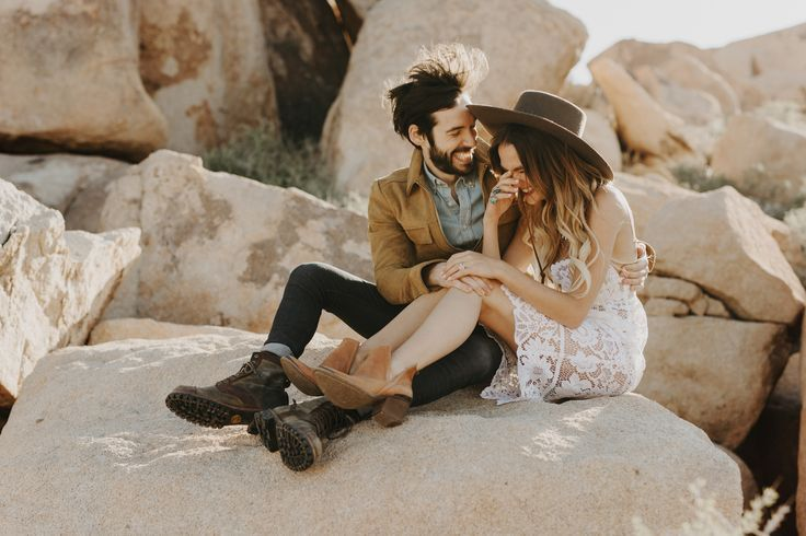 Joshua Tree Engagement Photos - Portland Wedding Photographer