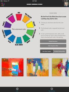 Burridge Goof Proof Color Wheel App