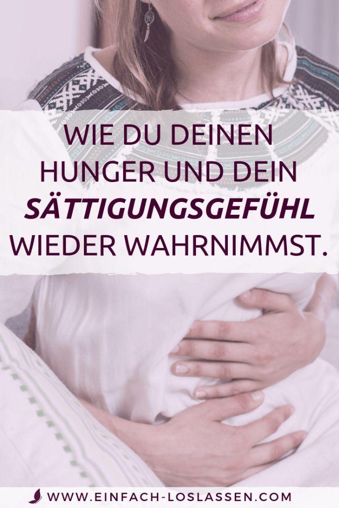 Was ist dein Hunger und dein Sättigungsgefühl?