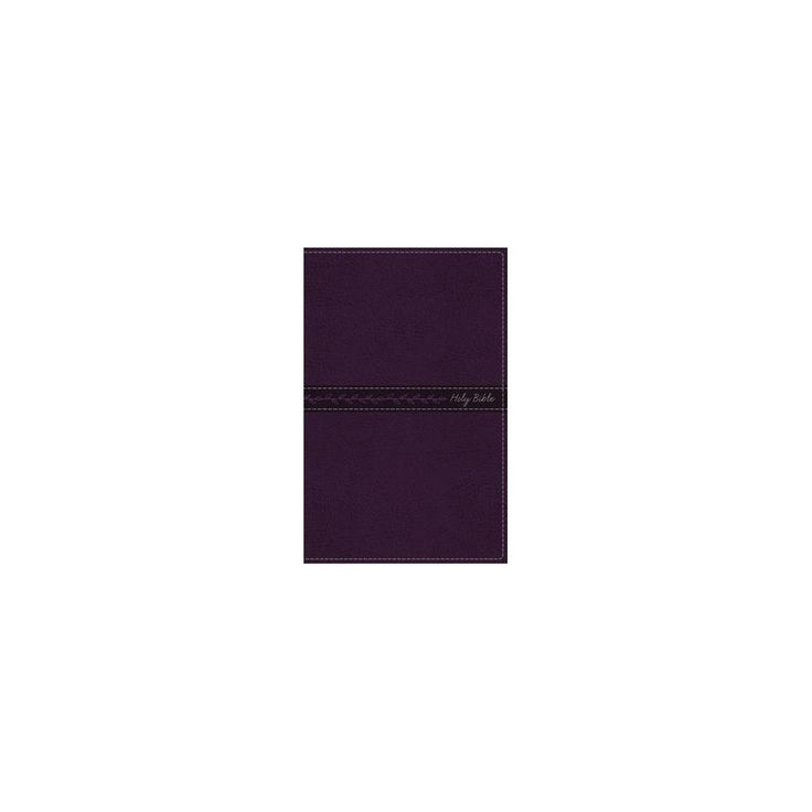 Holy Bible : King James Version, Purple, Red Letter Edition, Thinline, Standard Print, Imitation Leather