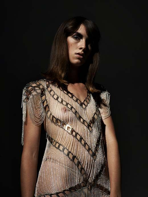 Neo Lace Gown by Alexi Freeman & Tessa Blazey
