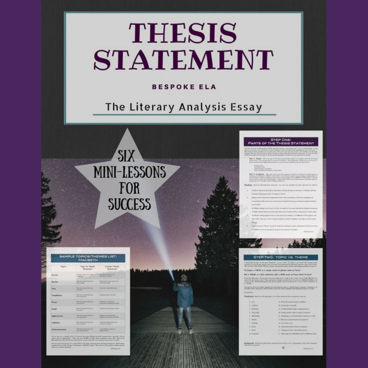 literary analysis the lesson 2 essay Literary analysis is a genre that in many ways resembles an argument: you make a claim about the work and support your claim with evidence from the text as well as reasoning and analysis.