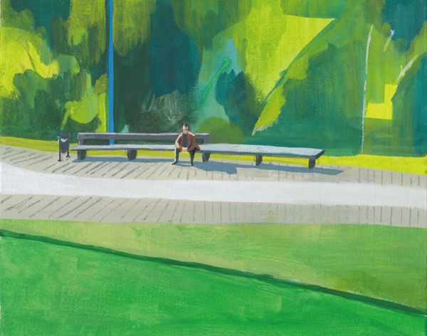 Park by Megumi Goto, via Behance