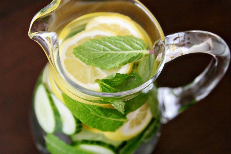 Homemade Detox Water – Ideal For A Flat Stomach   Health Digezt
