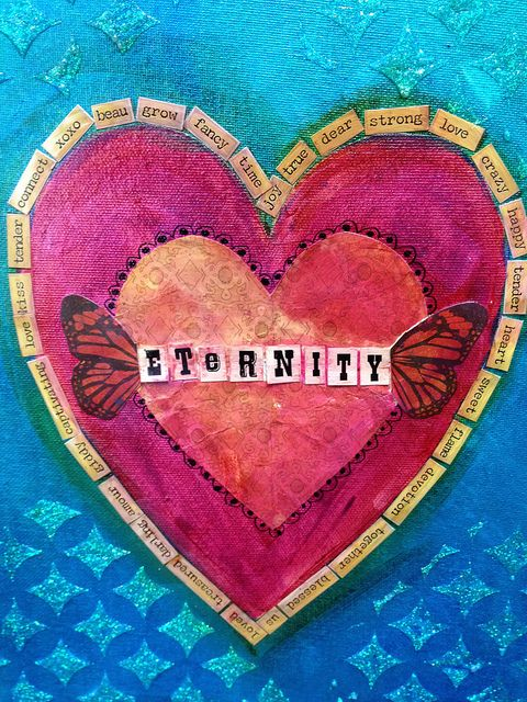 348 best Heart Art images on Pinterest   Heart art, Hearts and My ...